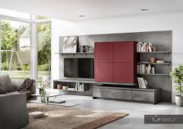 nobilia lowboards living room set 378 cm easytouch 963 rust