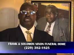 Frank and Solomon Nixon Funeral Home Tifton Georgia