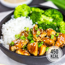 chicken teriyaki mit brokkoli und reis einfaches rezept und kalorienarm