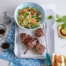 couscous salat mit lamm