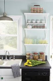 Hang Bracketed Shelves In A Tight Space Theyll Keep You Organized Without The