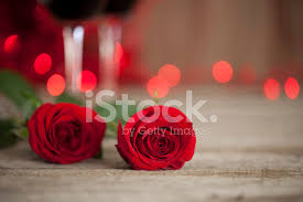 Premium Stock Photo Of Valentines Day Wine Red Roses On Old Wood Rustic Background