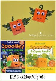Pre K Halloween Books by Spookley The Square Pumpkin Craft Magnets Magnets Squares And Craft