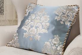 Decorative Pillows With Modern Style Light Blue