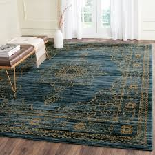 Safavieh Serenity Turquoise Gold Rug 86 X 12