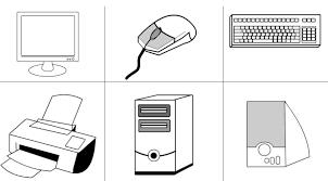 Parts Computer Coloring Book