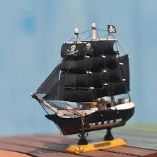 Home Decoration Mediterranean Style Caribbean Pirate Black Pearl