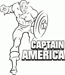 Printable Colouring Pages For Kids Superheros Coloring