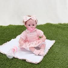 Pursue Baby Soft Silicone Realistic Reborn Baby Doll Samuel 46cm
