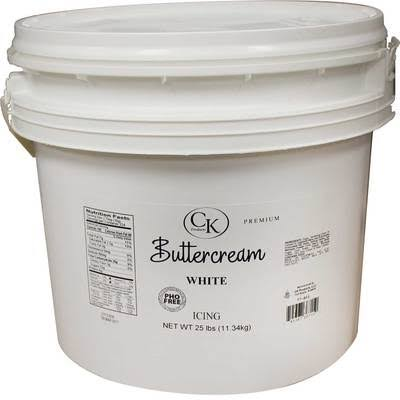 CK Products Buttercream Icing 25 lb