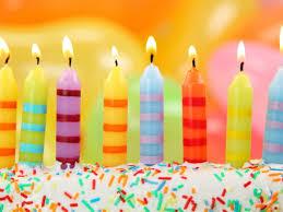Free Birthday Cake Why Do We Put Candles A Birthday Cak With White Cream