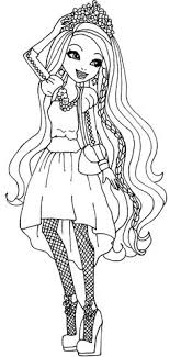 Keeping Up With The Popularity Of Series Weve Rounded A List Ever After High Coloring Pages Featuring All Famous Characters