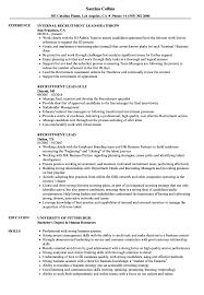 Related Job Titles Recruitment Manager Resume Sample