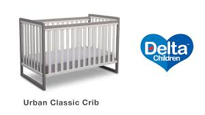 Bratt Decor Crib Assembly Instructions by Delta Children U0027s Urban Classic Assembly Video Youtube
