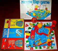 Mouse Trap Game Board