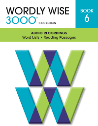 Wordly Wise 3000R 3rd Edition Audio CD Book 6 Set Of 3