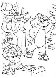Barney And Friends Coloring Pages 20