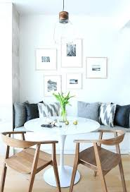 Built In Dining Bench Black And White Photo Gallery Over Seat