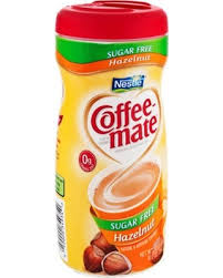 Coffee Mate Sugar Free Hazelnut Powder Creamer 102 OZ Pack Of 6
