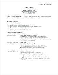 Writing Objectives For Resume Job Sample Resumes Career Objective Examples New