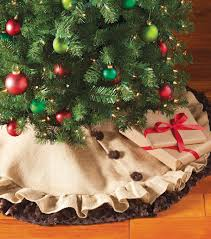Rustic Christmas Tree Skirt Project Materials