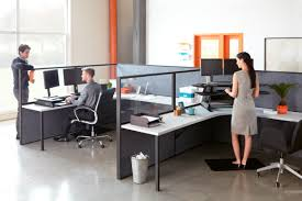 increasing office collaboration with sit stand desks varidesk