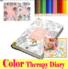Color Therapy Coloring Books Monthly Weekly Daily Planners Academic Planner Organizer Agenda 114 Sheets 51 X
