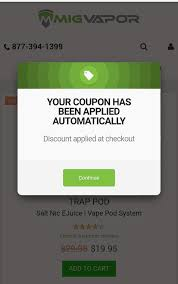 10%-15% Off Mig Vapor Coupon Codes On All Mig Vapor Products ... Get The Best Pizza Hut Coupon Codes Automatically Wikibuy Pay Station Code Program Ohsu Cbd Oil 1000 Mg Guide To Discount Updated For 2019 Completely Fake Store Coupons Fictional Bar Codes All Latest Grab Promo Malaysia 2018 100 Verified Green Roads Reviews Gummies Wellness Terpenes Official Travelocity Coupons Discounts Airbnb July Travel Hacks 45 Off Hack Your Price Tag Hacker Save Money On California Cannabis Tours By Line Trips