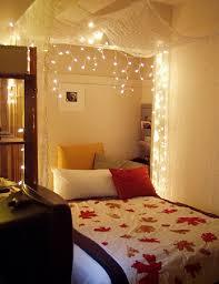 Bedroom Decor Lights Christmas Concept