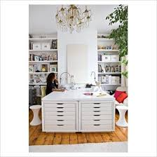 Very Clever IKEA hack 2 x ALEX drawer units in white removed