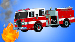 100 Fire Truck Wallpaper S For Kids Playing In White Room Video For