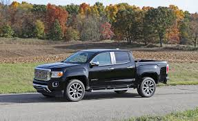 2017 GMC Canyon | Review | Car And Driver Gmc Sierra Pickup Truck Resigned With Trickedout Tailgate Carbon Installing 19992006 Gm 1500 Pickup 15 To 25inch Suspension Lift New Denali Luxury Vehicles Trucks And Suvs Midnight Custom Truck Build Saskatoon Commercial Cars From Wheaton Buick Cadillac Ltd Cars Trucks For Sale In Ottawa On Myers Chevrolet Dave Smith 2500hd All Terrain X Chevrolets Big Bet The Larger Lighter 2019 Silverado Gets Blackout Treatment Elevation Edition Autoweek Chevy Dealer Keeping The Classic Look Alive With This 2015 3500 Crewcad