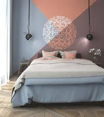 schillernde geometrische wände für das moderne haus