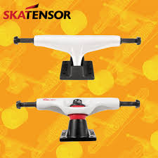 100 Lightest Skateboard Trucks Tensor Mag Light Regular White Black Red 550 Attacchi