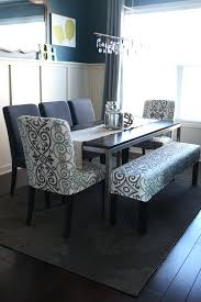 Dining Room Bench Slipcover Seat With Back