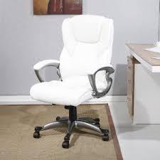 Wayfair Swivel Desk Chair by White Office Chairs You U0027ll Love Wayfair