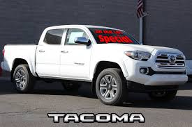 New 2018 Toyota Tacoma Limited Double Cab 5' Bed V6 4x4 AT In Santa ...