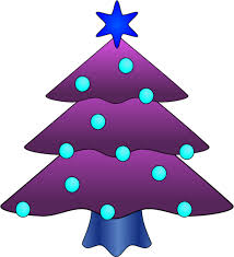 Purple Christmas Cliparts 2894636 License Personal Use