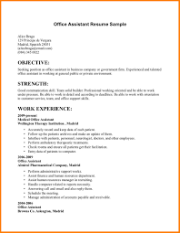 Resume Examples For Communications Jobs