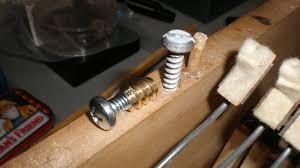Fender Bassman Cabinet Screws by Fender Rhodes 1967