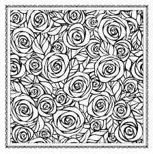 Free Coloring Book Pages Flowers Blossom Magic Beautiful Floral Patterns Adults Color Wild Pdf Printable