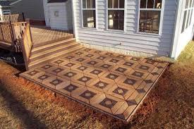 Cheap Outdoor Flooring Solutions Carpet Ideas