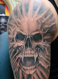 Skull Tattoo Designs For Men46