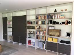 moderner wohnzimmer schrank mit schiebeelement schreinerei