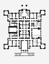 Chateau Floor Plans Château De Ferrieres Plan Du Rez De Chaussée Castle