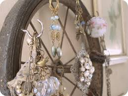 Shabby Chic Jewelry Storage And Display Idea