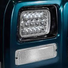 100 Led Lights For Trucks Headlights Lumen Rectangular Sealed Beam LED