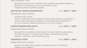 Teenage Resume Examples Photographer Objective
