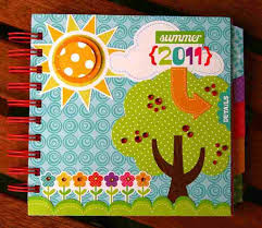 Old Scrap Book Onto A Blank Canvas Then Paint Rhcom Glue Scrapbook Designs Using Colored Paper