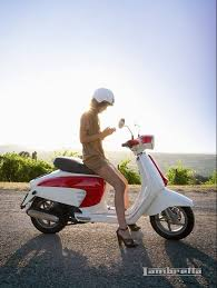 Lambretta Ads Vespa GirlScooter